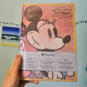 Brand new vintage Mickey hardcover journal